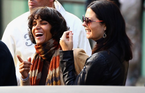 Halle Berry Films 'Cloud Atlas' in Scotland