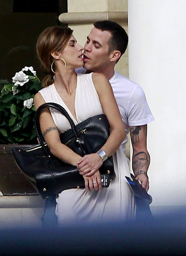 Steve-O and Elisabetta Canalis Show Off New Romance