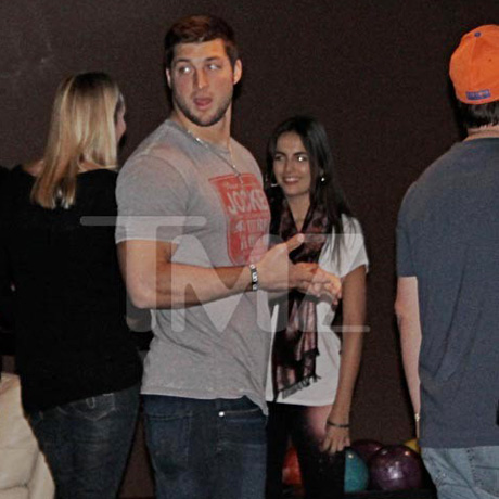tim tebow camille date