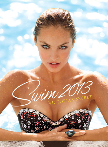 candice swanepoel covers victorias secret swim issue