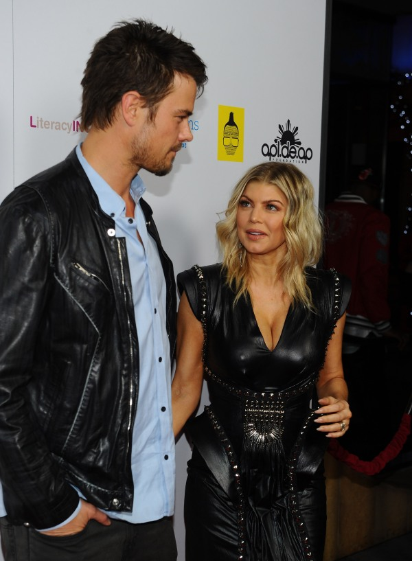 Fergie & Josh Duhamel at apl.de.ap's Birthday Celebration