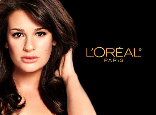 Lea Michele for L'Oreal Paris