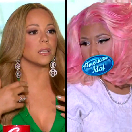 mariah carey nicki minaj charlotte auditions feud