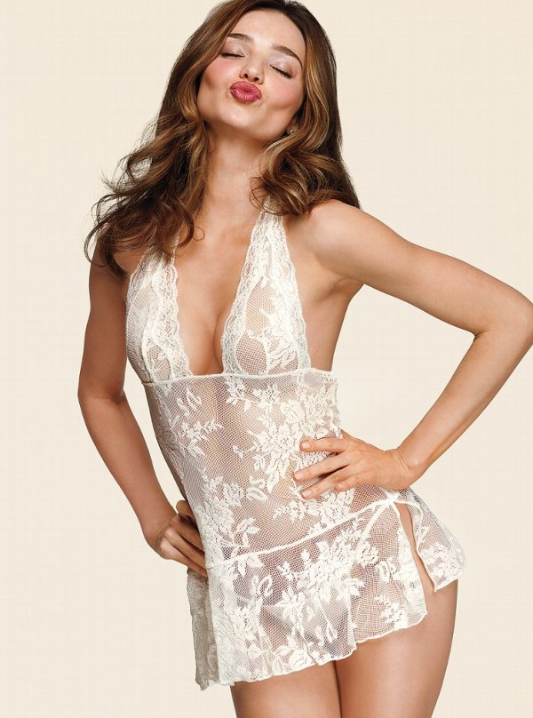 miranda kerr bridal lingerie