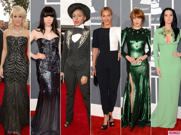 Grammy Awards 2013: Red Carpet Trends