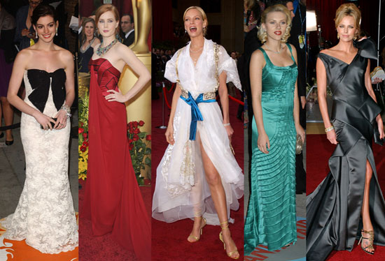 style watch worst oscar dresses of all time gossip zoo